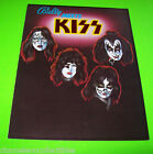 KISS By BALLY 1979 ORIGINAL PINBALL MACHINE PROMOTIONAL SALES FLYER BROCHURE
