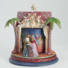 Jim Shore The Night Of Our Dear Saviors Birth Nativity Musical Rotating Figurine