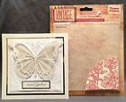 Flowers Garden embossing folder Crafters Companion Embossing Folders floral