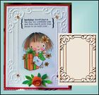 Cuttlebug embossing folders TIFFANY rectangle frame folder All Occasion
