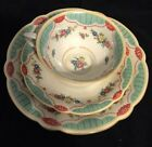 SELTMANN WEIDEN BAVARIA TRIO MADE IN GERMANY CUP, SAUCER, PLATE SET