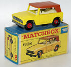 Vintage MATCHBOX LESNEY Regular Wheels No. 18e Field Car in F2 Picture Box