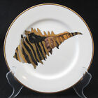 Fitz & Floyd Coquille Combinees Small Conch Shell Salad Plate