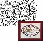 Embossing Folder swirl VINE PATTERN by DARICE 1219 136 NEW Cuttlebug Compatible
