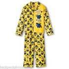 Despicable Me 2 Button Down Fleece Pajamas Boy's size 8 NeW Shirt Pants Pjs Set