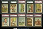1959 Fleer Ted Williams Mid-Hi Grade COMPLETE SET w Ted Signs, PSA (PWCC)