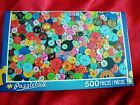 NEW Puzzle Bug 500 Piece Jigsaw Oodles of Buttons