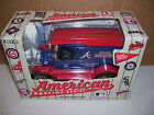 NEW ERTL AMERICAN PASTIME SERIES ATLANTA BRAVES TRUCK DIECAST COIN BANK #2