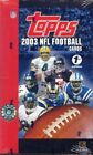 2003 Topps 1st First Edition NFL Football Box