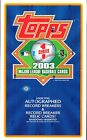 2003 TOPPS SERIES 1 SEALED HOBBY BASEBALL BOX