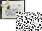 Darice Embossing Folders FLOWERS  VINES A2 Cuttlebug Compatible folder 1218 115