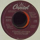 STRANGE ADVANCE She Controls Me Lost In Your Eyes 7 45 OOP early 80s synth pop
