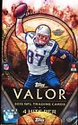 2 BOX LOT 2015 TOPPS VALOR HOBBY FOOTBALL SEALED