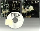 OTEP Smash the Control Machine TST PRESS PROMO DJ CD single  w/ PRINTED LYRICS