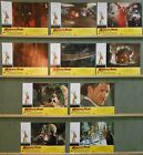 WJ77 INDIANA JONES THE TEMPLE OF DOOM HARRISON FORD orig Lobby Set Spain