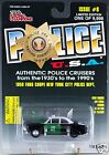 Racing Champions Police USA 1950 Ford Coupe New York City Issue #8 MOC 1998
