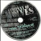 COMPANY OF WOLVES The Distance PROMO DJ CD Single 1990 USA HEAVY METAL HAIR BAND