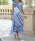 Womens Summer party Church Holiday Cruise Cocktail stretchy maxi dress plus 2X