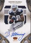 DEMARCO MURRAY RC 2011 CROWN ROYALE 3 COLOR PATCH AUTO #180 299 ON CARD SIGNATUR