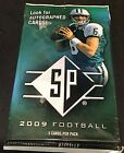 2009 Upper Deck SP Football HOT PACK Guaranteed AUTOGRAPH JERSEY PATCH