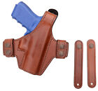 Bianchi 130 Classified Allusion Tan Leather Holster Glock 19 23 32 25726 New