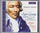 * SAINT GEORGE /MOZART string quartets QUATUOR ANTARES INT 221.125 CD