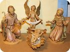 FONTANINI DEPOSE ITALY 8 HOLY FAMILY NATIVITY VILLAGE 8PC SET SPIDER MARK GC