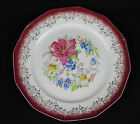BOQUET pattern 9.25 inch dinner plate by Royal China Company from Sebring, Ohio