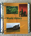 Sonlight Curriculum WORLD HISTORY PART 1 IG Complete Excellent 2008 Core B