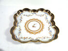 Gilt Armorial Serving Tray or Bowl