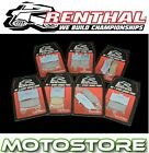 RENTHAL RC-1 SINTERED PAIR FRONT BRAKE PADS FITS KAWASAKI ER650 ER6N ABS 2006-15