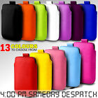 LEATHER PULL TAB SKIN CASE COVER POUCH FOR VARIOUS T MOBILE PHONE