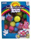 Frankford Candy Inspirational Egg Hunt Eggs with Jelly Beans Box of 20