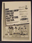 1991 Rickey Henderson~A's~Starting Lineup Baseball Statue Toy Memorabilia AD