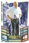 A Topps Match Attax card Kenny Jackett at Millwall. Personally signed by him.