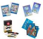 HUGE HALLMARK UNICEF 4 BOXED XMAS CARD LOT NATIVITY ICE SKATING HOT AIR BALLOON