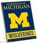 University of Michigan Wolverines Logo Premium 8 x 10 Solid Wood Easel Sign