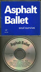 ASPHALT BALLET Soul Survive Ultra Rare PROMO Radio DJ CD Single 1991 USA MINT