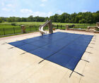 15X30 RECTANGLE SWIMMING POOL CHILD PET SAFETY WINTER COVER BARRIER NO FENCE