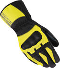Motorcycle Race SPIDI B51 486 L Voyager H2Out Gloves Lg Flo Yellow