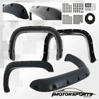 1994-2002 Dodge Ram 1500 2500 3500 Pocket Style Black Rivet Fender Flares