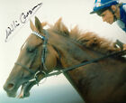 WILLIE CARSON LEGENDARY JOCKEY EXCELLENT SIGNED COLOUR PHOTOGRAPH