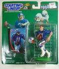 1998 Drew Bledsoe QB New England Patriots NFL Football Hasbro Starting Lineup