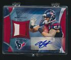 ARIAN FOSTER 2013 TOPPS PATCH AUTO 3 COLOR 37 50 TAR-AF