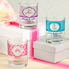 36 Personalized Shot Glass Candle Holders Birthday Baby Party Wedding Favors