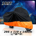 Orange Motorcycle Cover For Harley Davidson Electra Glide Ultra Classic FLHTCU
