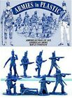 Toy Soldiers War of 1812  American Rifle Company BLUE 16 Plastic Figures 5506