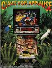 CREATURE FROM THE BLACK LAGOON By Bally ORIGINAL 1992 NOS Pinball Machine FLYER