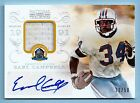 EARL CAMPBELL 2013 NATIONAL TREASURE HALL OF FAME JERSEY AUTOGRAPH AUTO 50
