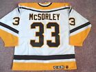 PITTSBURGH PENGUINS MARTY MCSORLEY CCM AUTHENTIC JERSEY SIZE 52 SPORT MASKA INC
